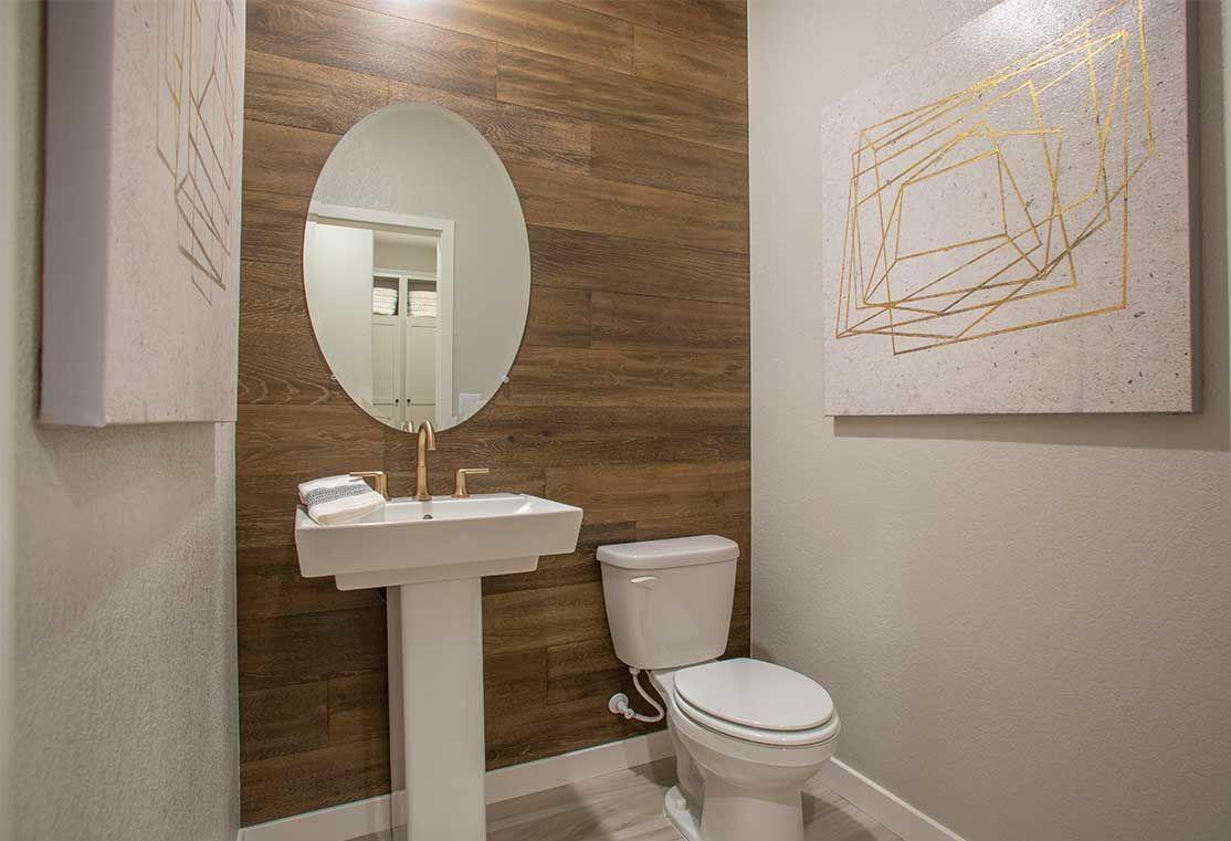 Plan 3 Powder Room   Breakwater by TRI Pointe Homes   River Islands in Lathrop, CA   #RiverIslands #RiverIslandsLathrop #RiverIslandsCA #RiverIslandsCommunity #CommunityAtRiverIslands #NorCal #NorCalRealEstate #NorCalLiving #BayAreaHomes #BayAreaRealEstate #NorCalHomes #LakeLife #LakeLifeAtRiverIslands #LakeLifeInspiration #RiverIslandsLife #LifeAtRiverIslands