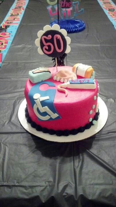 I will be making this for my mother in law when she turns 50