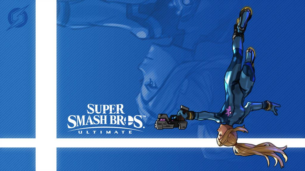 Super Smash Bros Ultimate Zero Suit Samus By Nin Mario64
