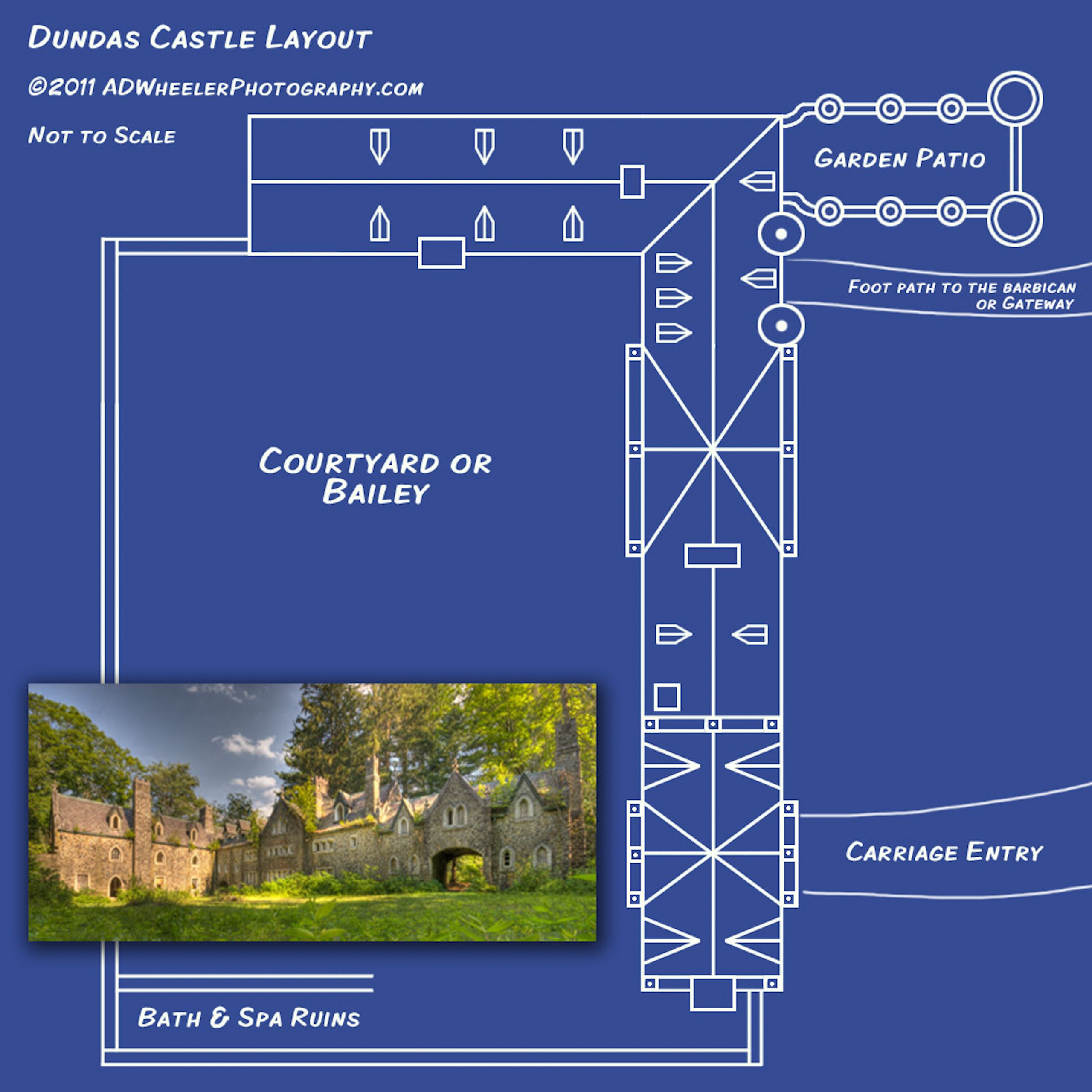 craig e clair dundas castle mason s castle in new york courtesy of