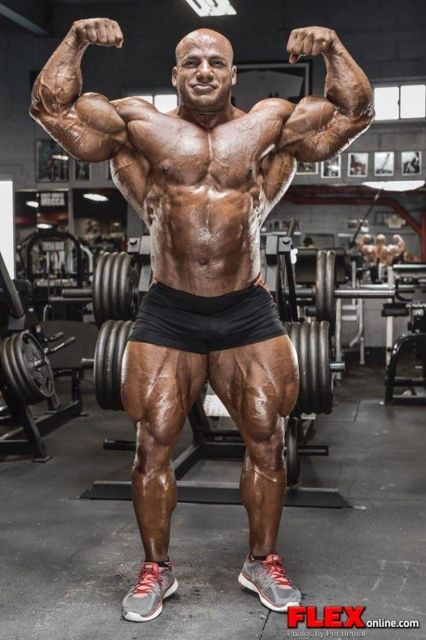 Mamdouh Big Ramy Elssbiay After The 2014 New York Pro Senior Bodybuilders Body Building Men Bodybuilding Workouts