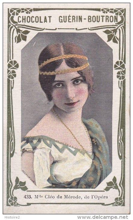 Cleo de Merode | Original collectibles, Postcard, Famous artists