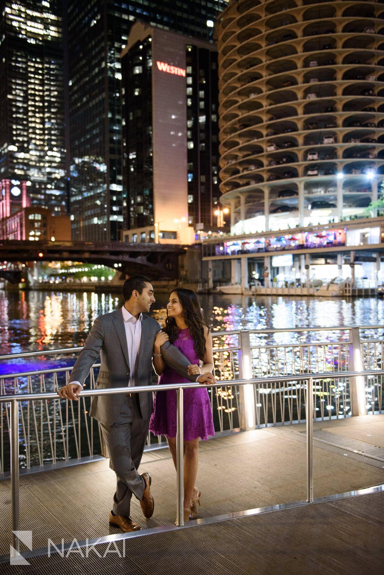 Chicago Engagement Photos // Smita + Tushar Chicago