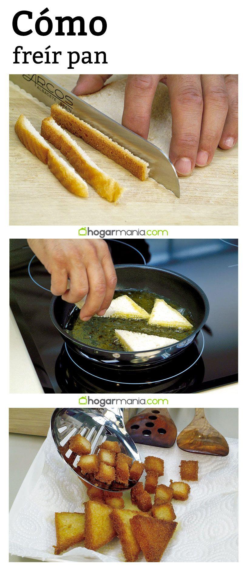 Cmo frer pan  hogar dulce hogar  Recetas Cocinas y