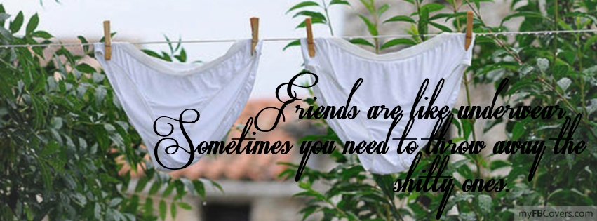 Underwear Facebook Covers - myFBCovers