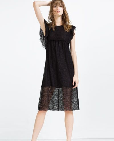 c178109e LACE DRESS-Midi-DRESSES-WOMAN | ZARA United States | Shop It | Zara ...