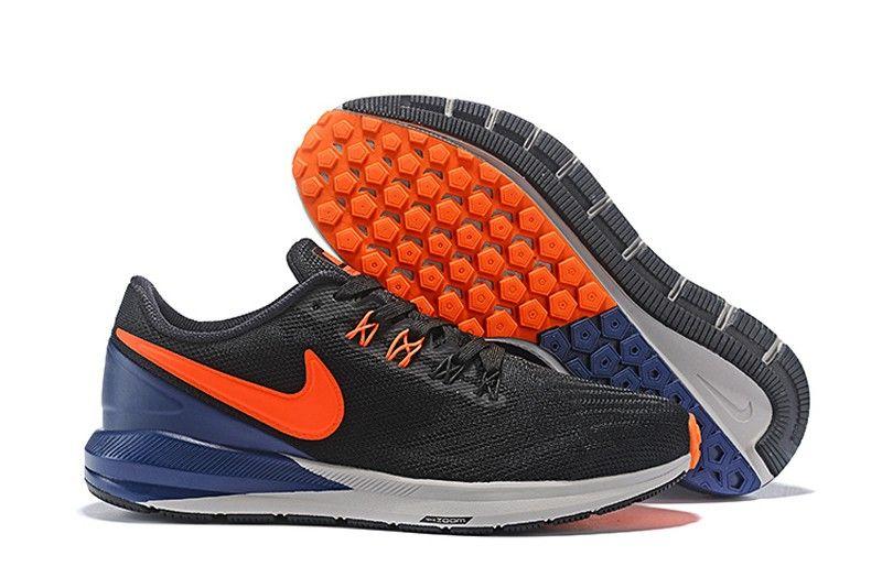 39d5c70a598f Nike Air Zoom Pegasus 35 Men s Dark Blue White-Orange Breathable  Lightweight Sneakers AQ2792-003
