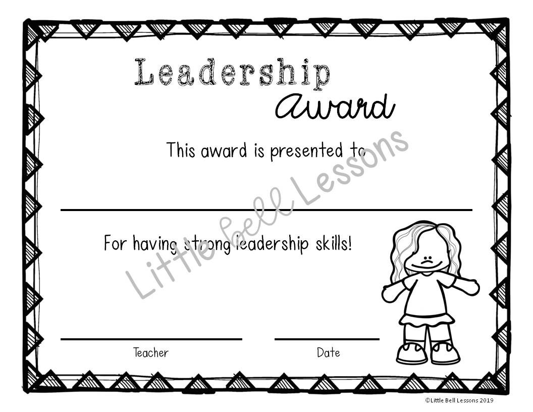 Editable End of Year Classroom Award Certificates {Printer