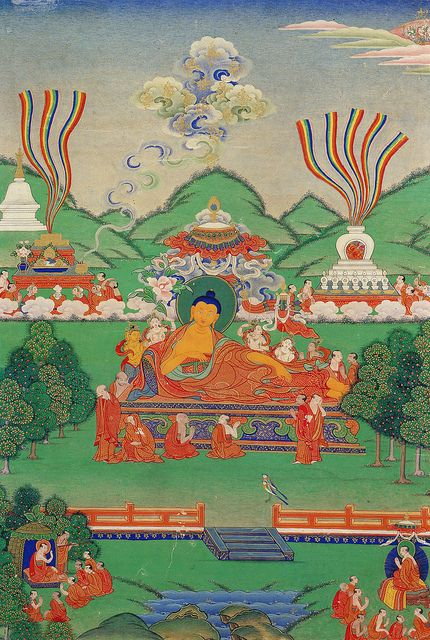 Shakyamuni Buddha Attaining Parinirvana by WilnerB, via Flickr