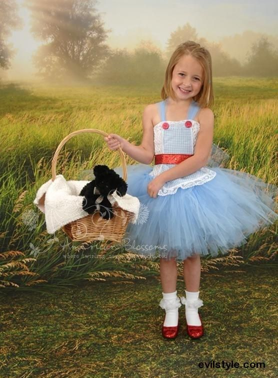 dorothy costume tutu dress baby girls toddler halloween costume dorthy wizard of oz costume by american