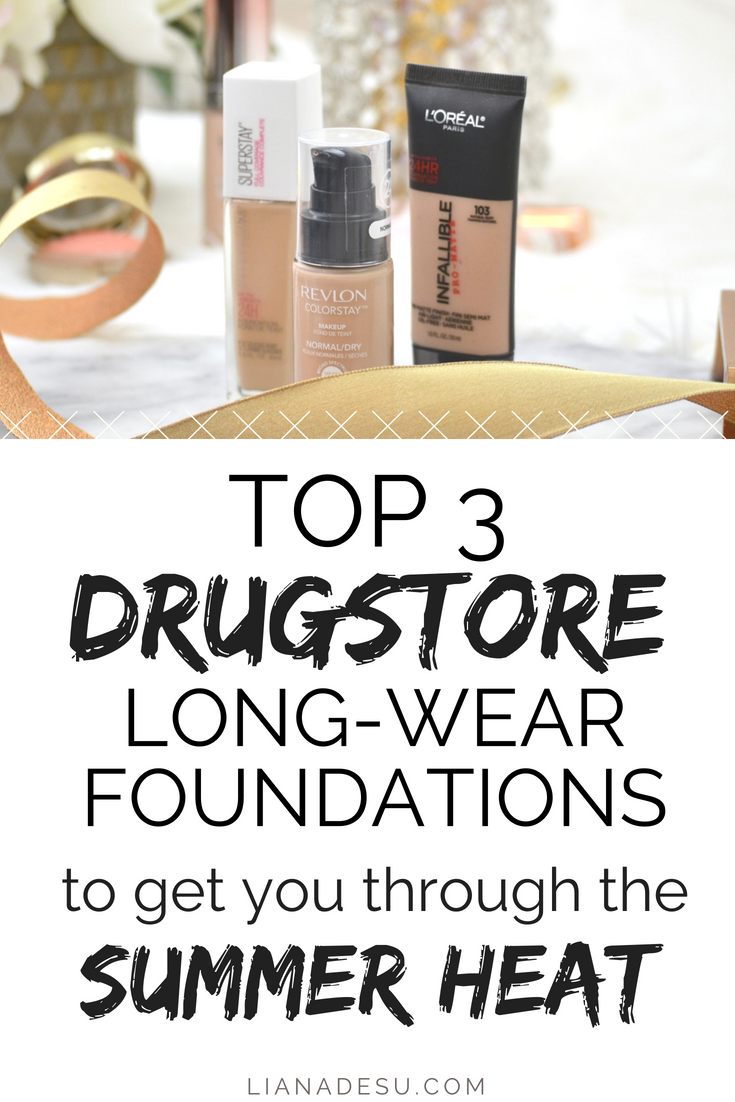 Best Sweat-Proof Long-Lasting Drugstore Foundations for