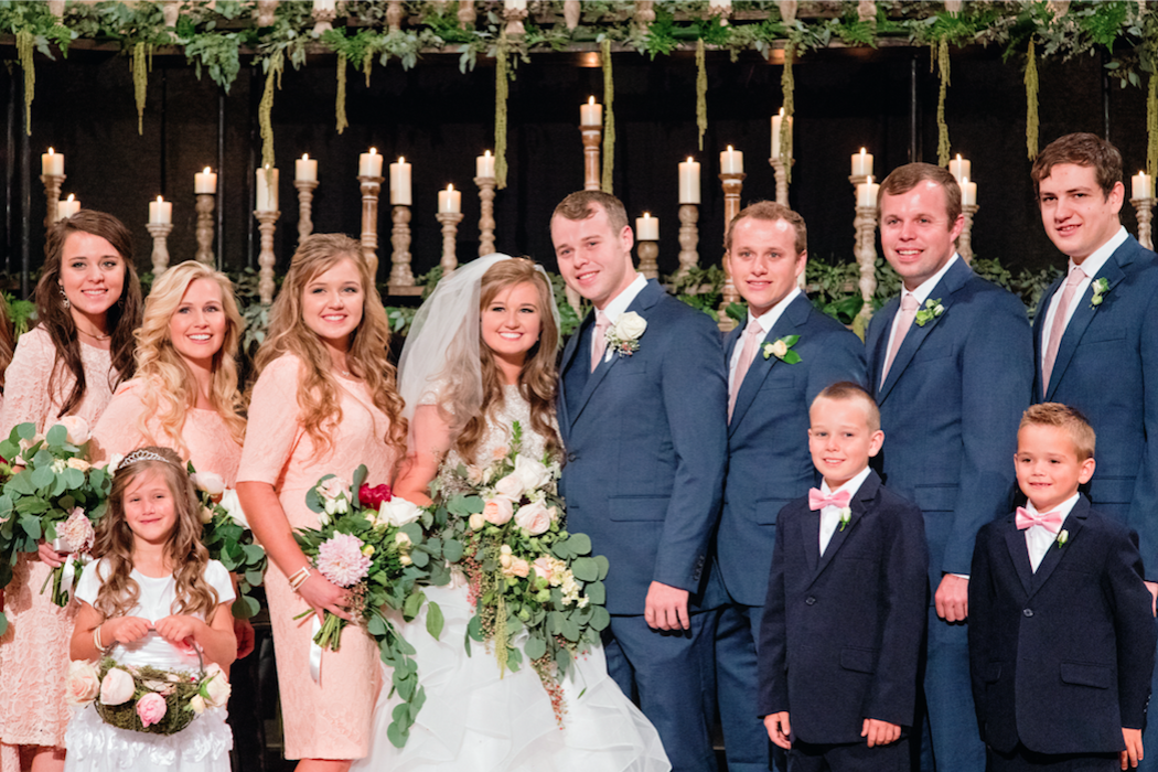 Tlc Official Site Duggar Wedding Duggars Wedding