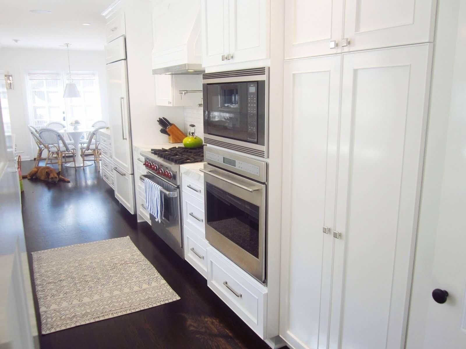Hidden storage areas keep this kitchen, showcased on Colorado Home ...