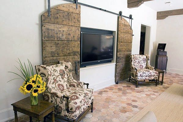 Hide Your TV DIY | DIY for Home, Landscaping & Gardening | Don't think the look of a TV adds to your decor? Here are some ideas for how to hide it when not in use.