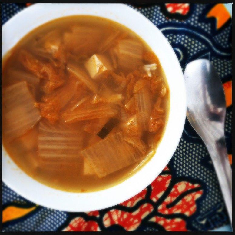 kimchi soup.  Love this stuff.