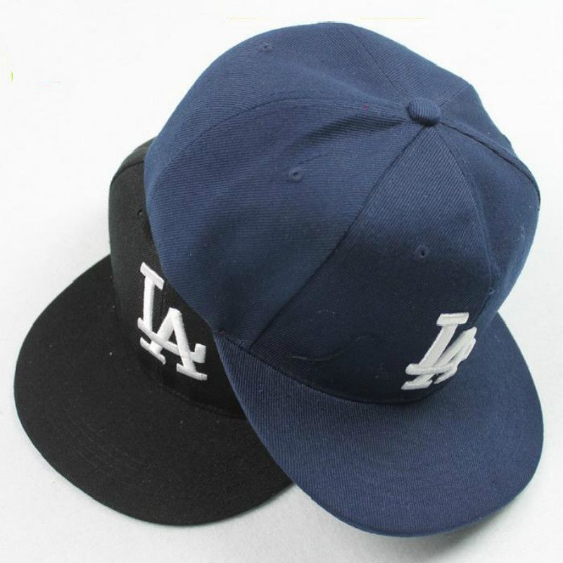 Brand New Ladybro LA Baseball Cap adjustable Street Skateboard Hip hop Bone  Cap Falt Hat for d6e1d52ffbe2