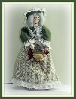 Grandma Aurora May On An Expedition Victorian Art Doll E-Pattern - Gray Is Beautiful Series