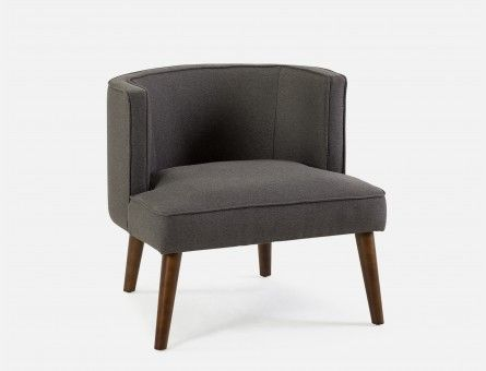 Best Pin By Natalia Santilli On Home Grey Armchair Fabric 400 x 300