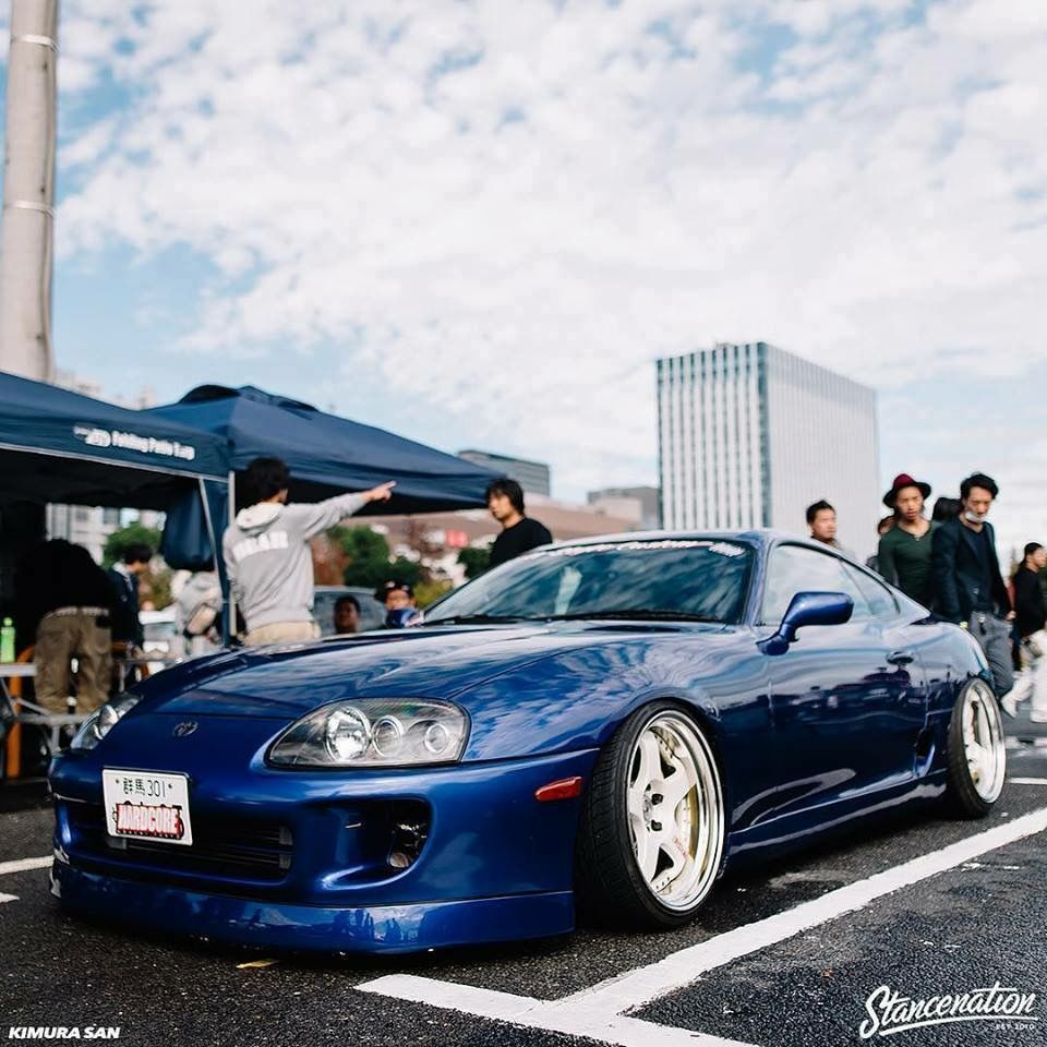 Supra MK4 Stance Camber Slammed JDM Modified Nation