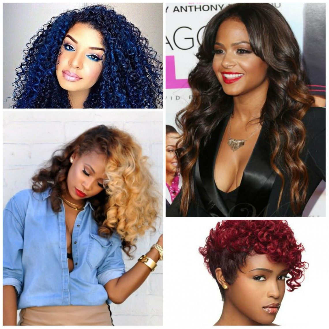 2019 Hair Color Ideas For Black Women Haircuts And Hairstyles For