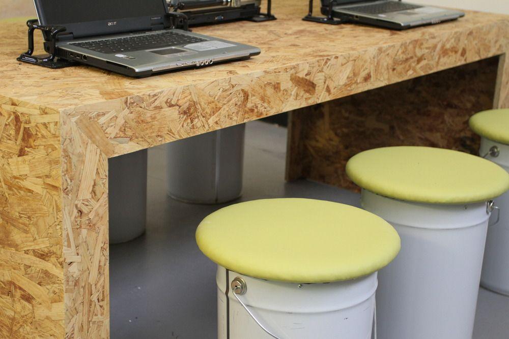 Osb Painted Desk S 246 K P 229 Google I ♡ Osb Muebles De
