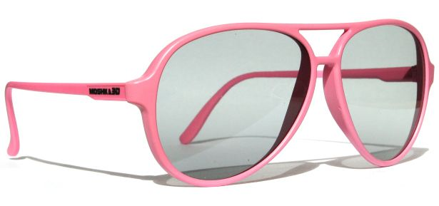 Stylish 3-D Glasses for Fashionable Film Fans