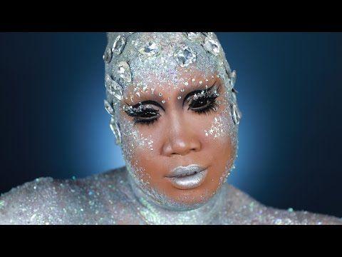 1860 diy alien halloween makeup tutorial  patrickstarrr