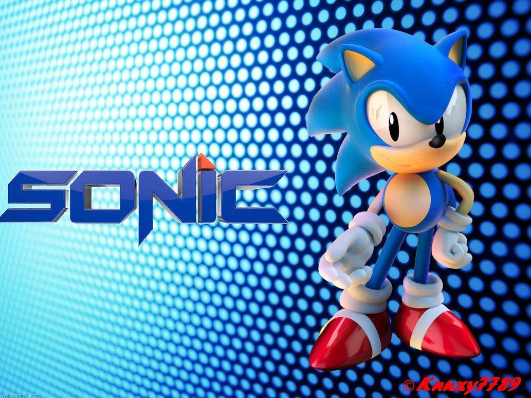 Classic Sonic Wallpaper By Knuxy7789 Sonic Stuff Classic Sonic