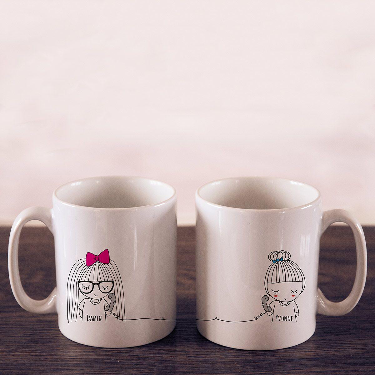729ba1c9fe0 Personello Exklusive Personalisierbare Tasse - Long Distance links online  kaufen ➜ Bestellen Sie Exklusive Personalisierbare Tasse