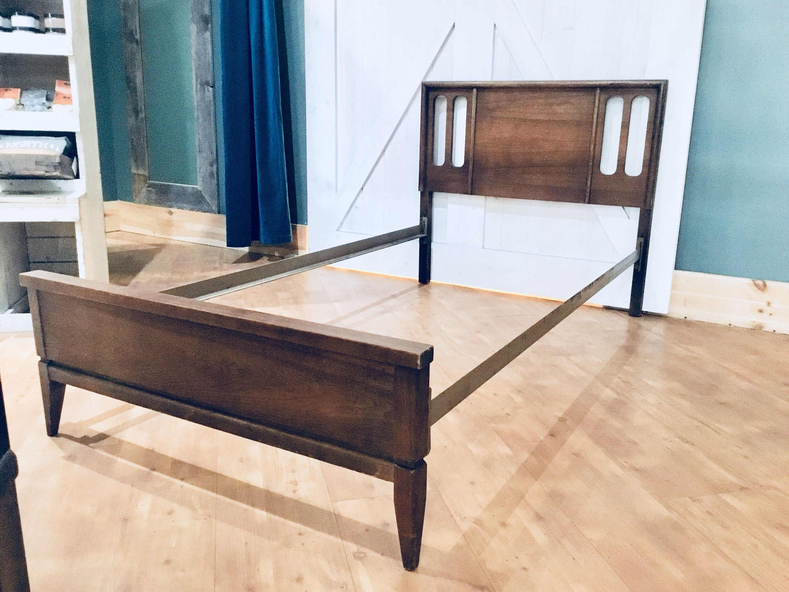 Mid Century Twin Bed Frame Twin Bed Frame Bed Frame Mid