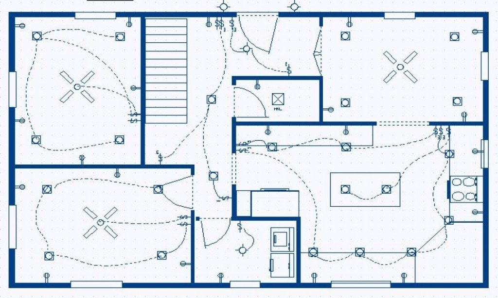 Electrical House Plan Details Engineering Discoveries Recessed Lighting Layout Electrical Layout House Plans