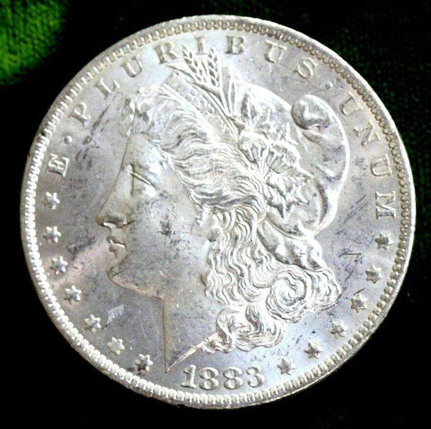 1883 O Morgan Silver Dollar /</> UNCIRCULATED