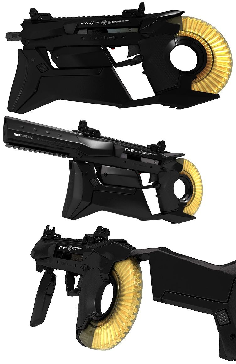 cool new concept gun.... - AR15.COM | Art of War | Pinterest | Ar15 ...