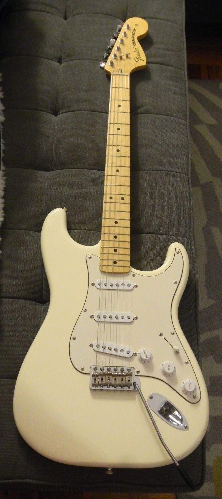 fender 70 39 s stratocaster electric guitar guitar collectibles music guitar guitar chords. Black Bedroom Furniture Sets. Home Design Ideas