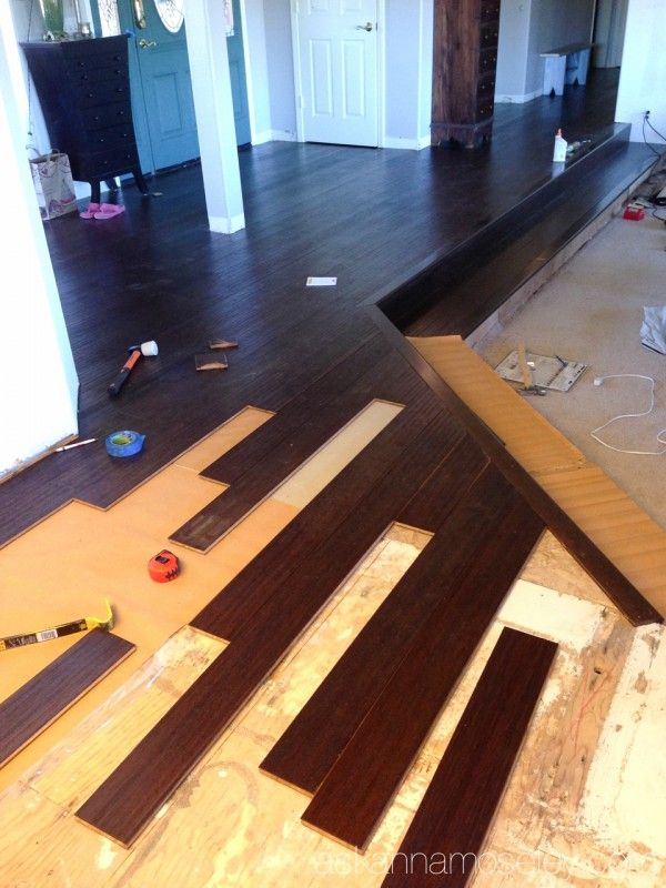 Diy Hardwood Floor Installation Installing Hardwood Floors Installing Bamboo Flooring Diy Hardwood Floors