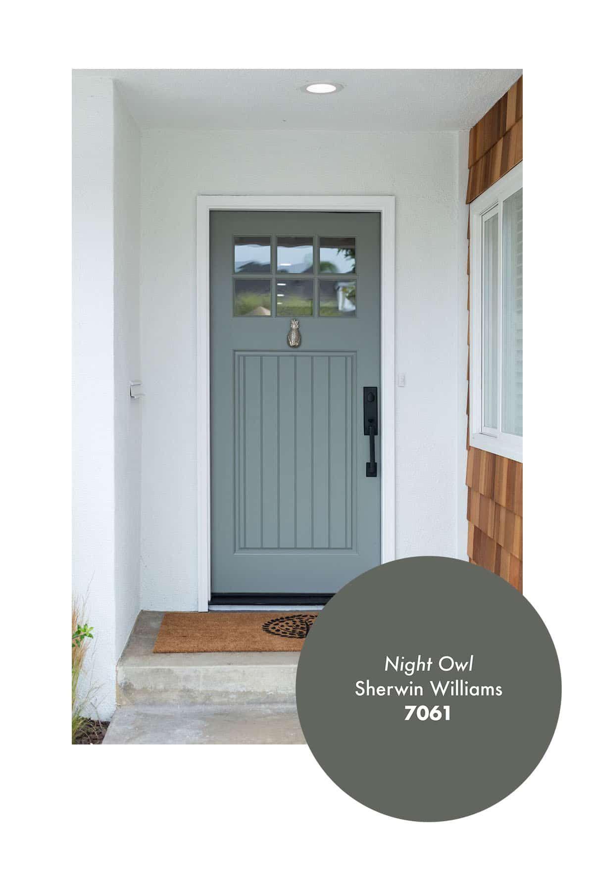 My 7 Favorite Front Door Paint Colors The Blog By Jasmine Roth In 2020 Painted Front Doors Door Paint Colors Front Door Paint Colors