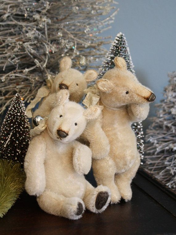 Sewing Pattern for little Polar bear Snowy. by theoldpincushion ...