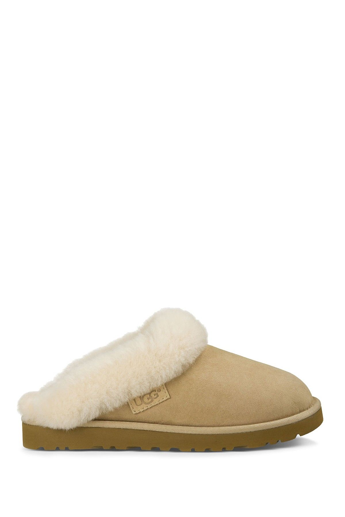 adad1d9ea7 Cluggette Genuine Shearling Lined Indoor Outdoor Slipper