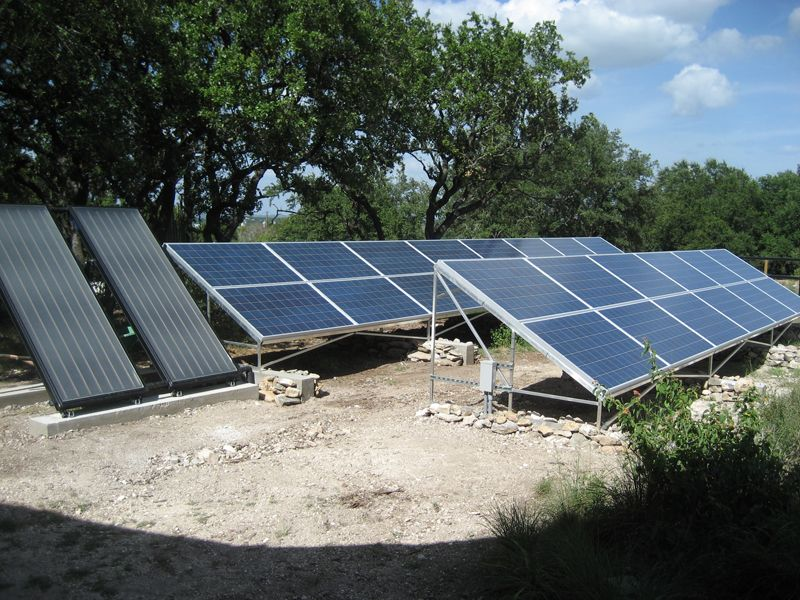 pv ground mounted array Google Search Roof solar panel
