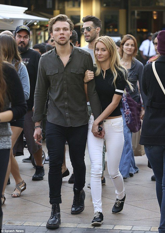 Ashton Irwin and Bryana Holly