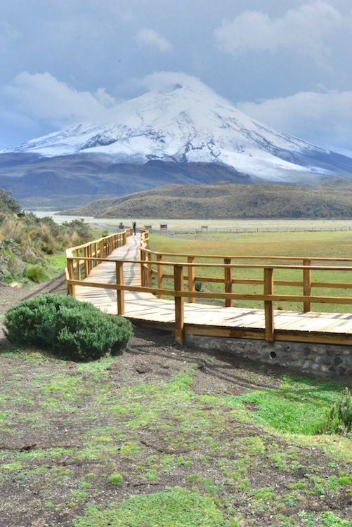 Volcan Cotopaxi Ecuador Mirador Lugares Hermosos Paisajes Ecuador Lugares Maravillosos
