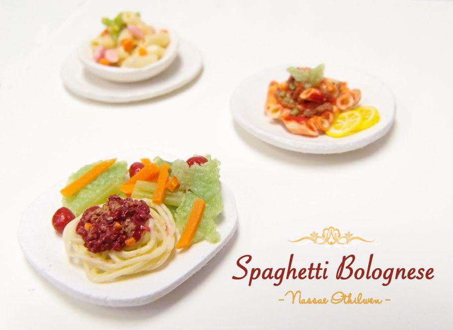 Spaghetti Bolognese by Nassae.deviantart.com on @deviantART
