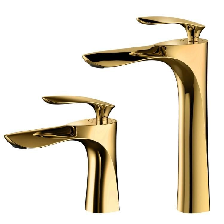 Photo of Gold bathroom faucet,  #Bathroom #Faucet #gold
