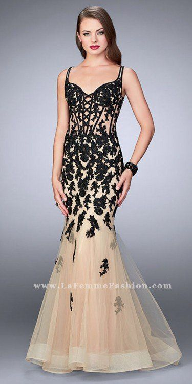 Illuminate the night in this jaw dropping Enchanting Sheer Applique ...