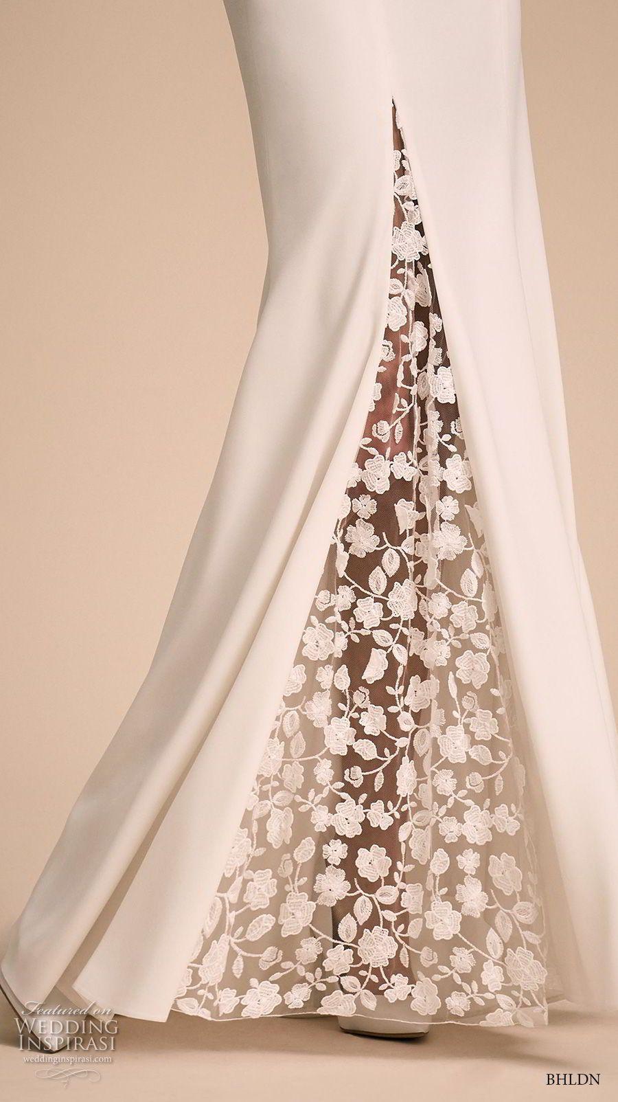 Simple elegant wedding dress designers  bhldn  bridal cap sleeves v neck elegant simple romantic