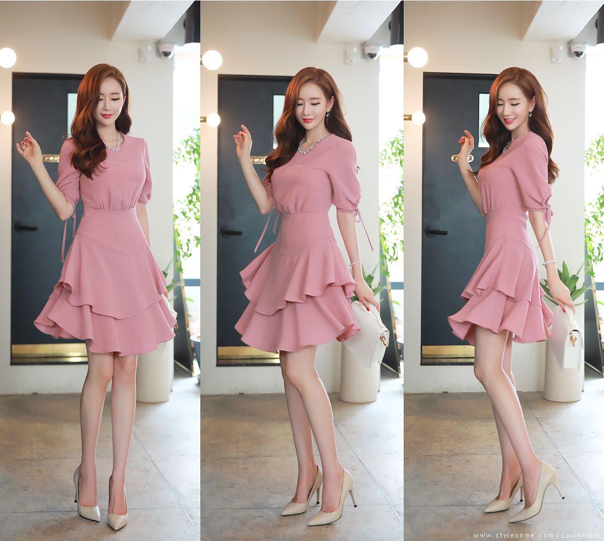 Romantic & Trendy Looks, Styleonme | vestidos | Pinterest ...
