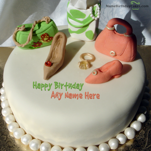 write name on Birthday Cake For Fashion Designer picture HBD Cake