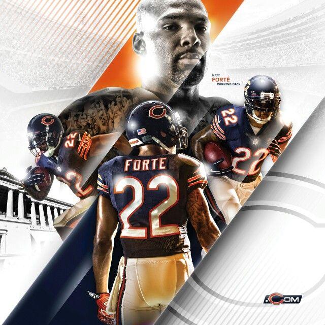 Matt Forte Chicago Bears Chicago Nfl Bear