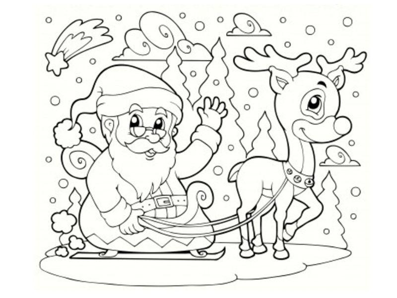 malvorlagen fur weihnachten