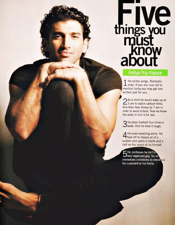 5 Things You Must Know About Aditya Roy Kapoor Roy Kapoor Bollywood Actors Bollywood Stars